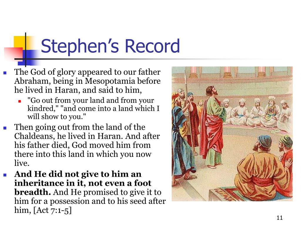 Stephen's Record