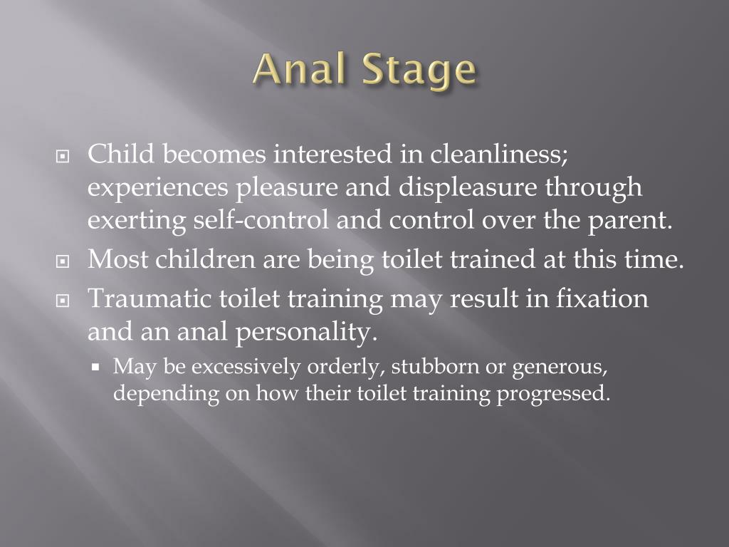 Anal Stage