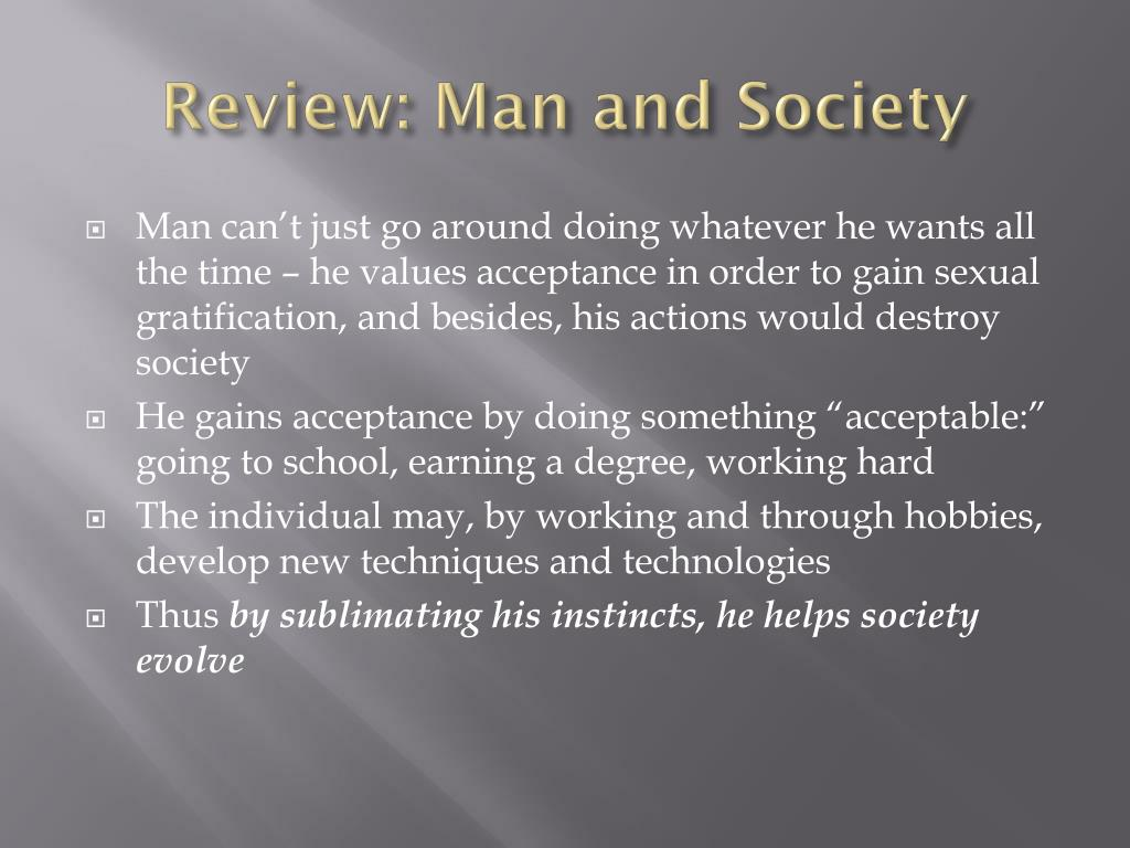 Review: Man and Society