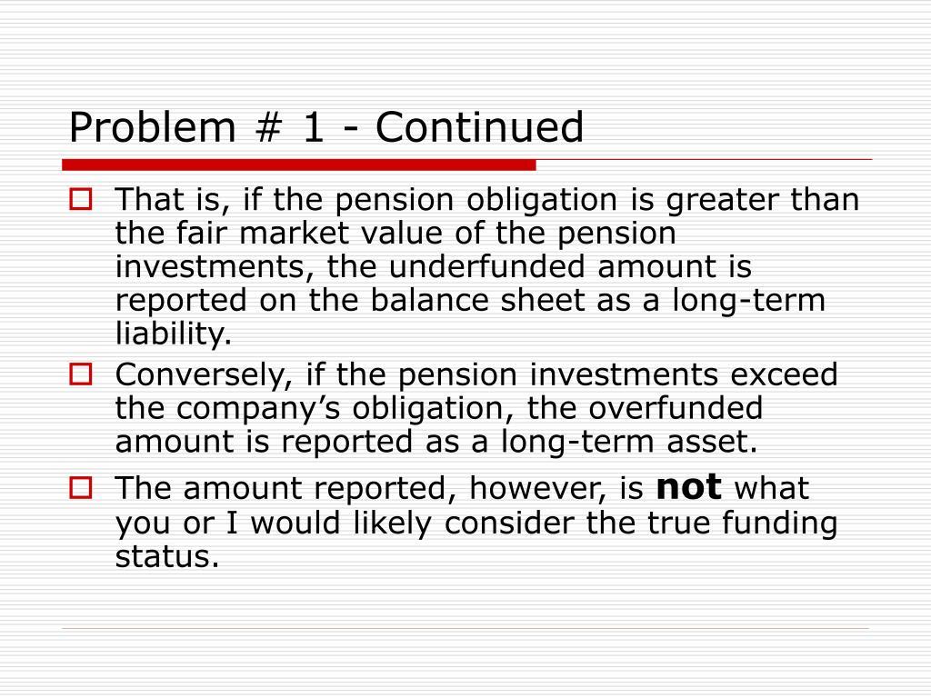 Problem # 1 - Continued