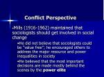 conflict perspective5