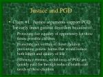 justice and pgd22