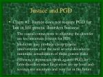 justice and pgd23