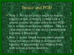 justice and pgd28