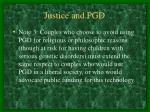 justice and pgd29