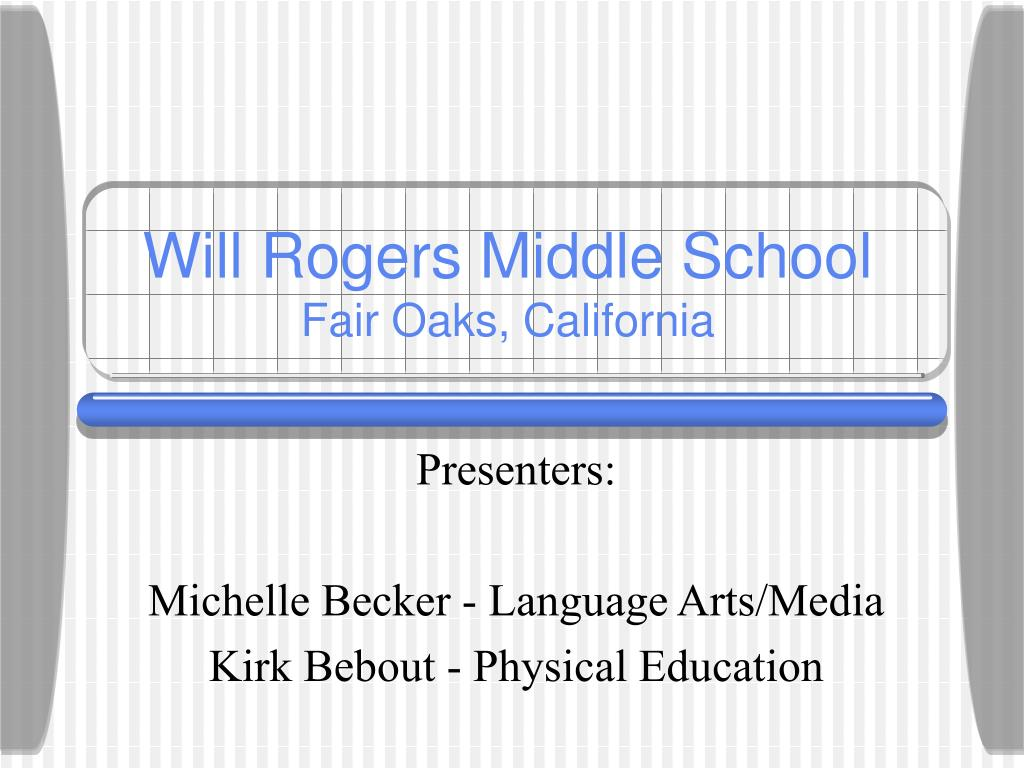 will rogers middle school fair oaks california l.