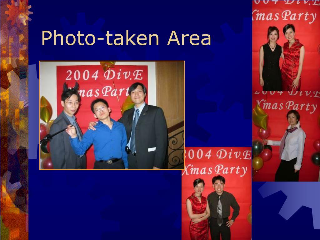 Photo-taken Area