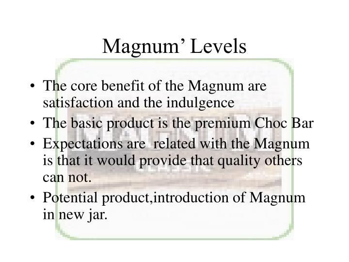 Magnum' Levels