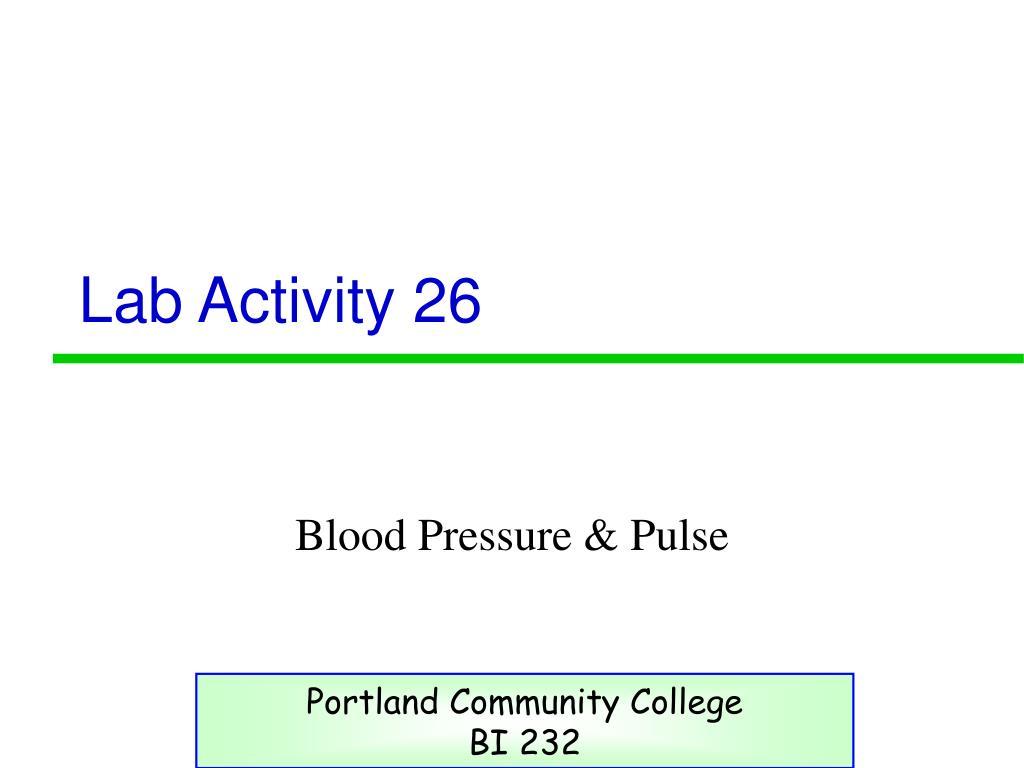 lab activity 26 l.