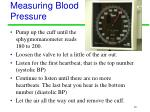 measuring blood pressure10