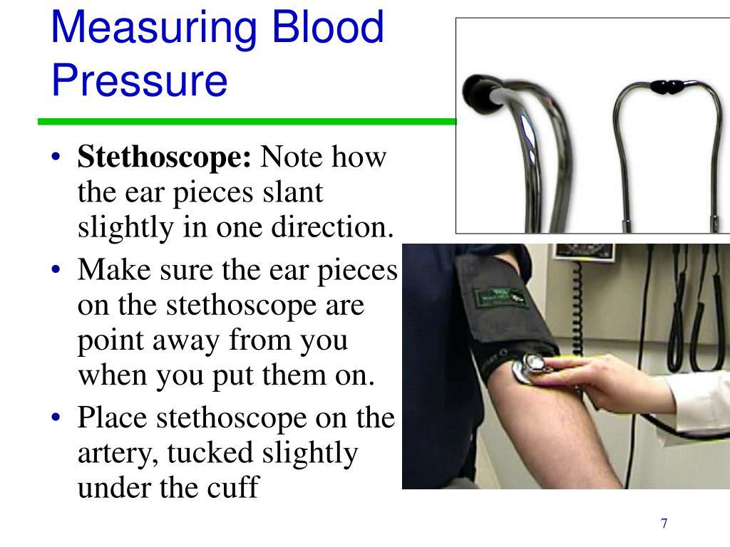 Measuring Blood