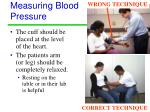 measuring blood pressure8