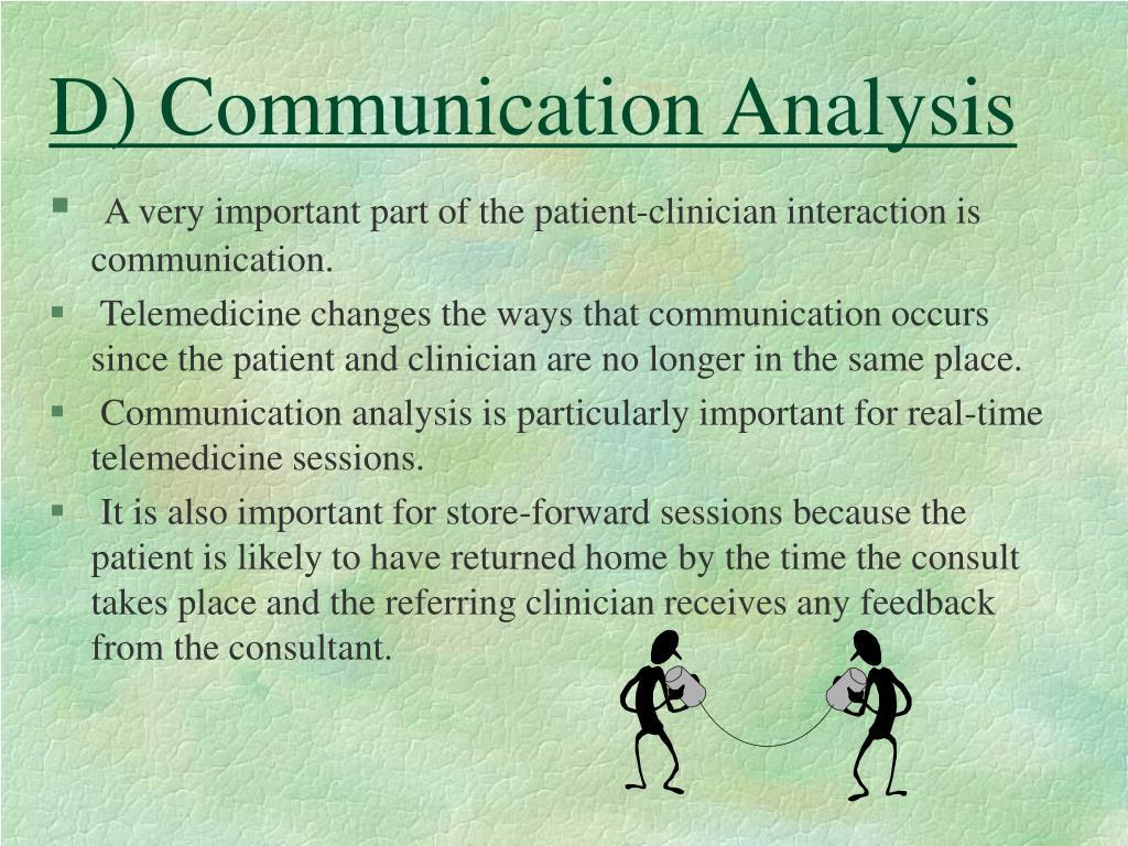 D) Communication Analysis