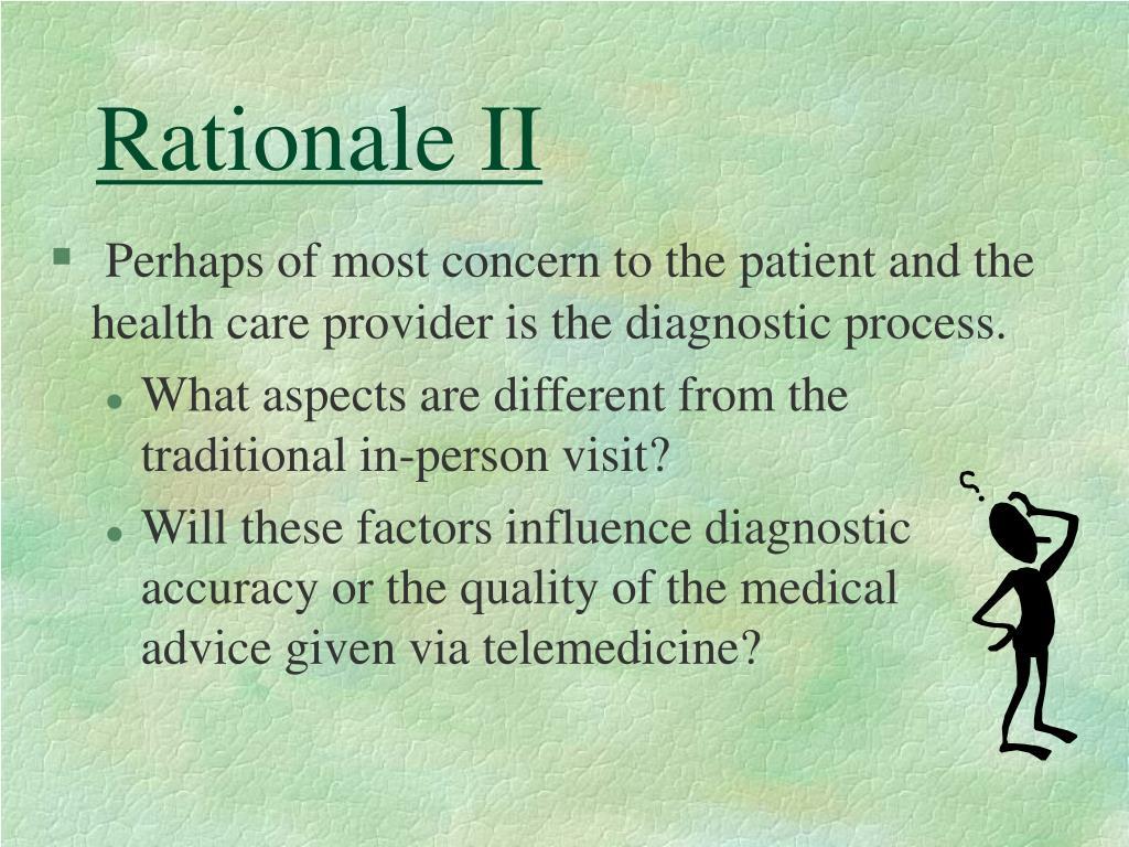 Rationale II