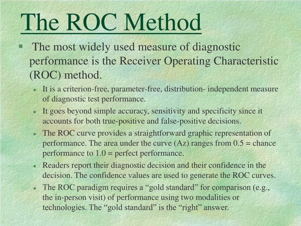 The ROC Method