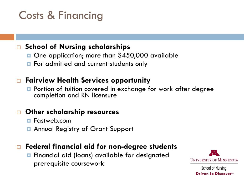 Costs & Financing