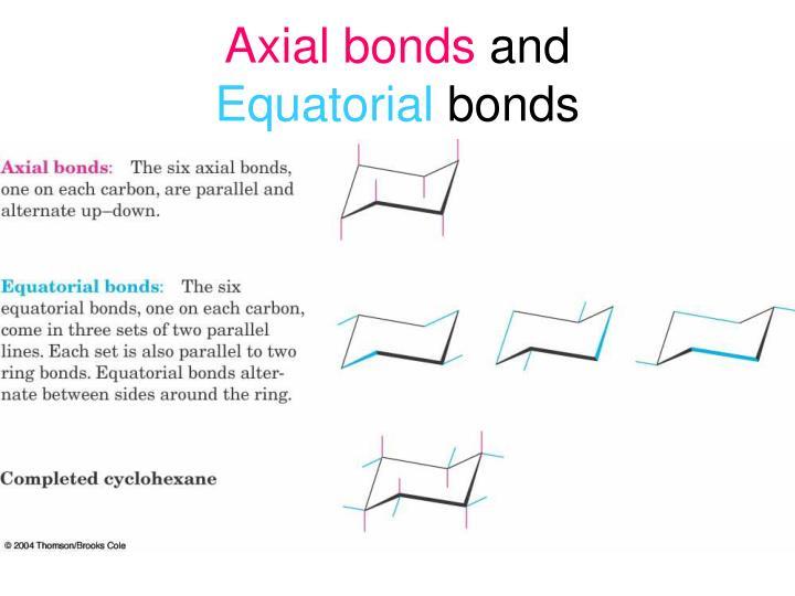Axial bonds
