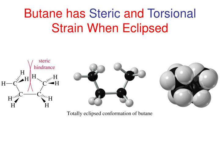Butane has