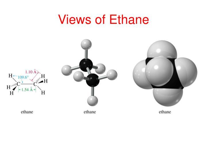 Views of ethane