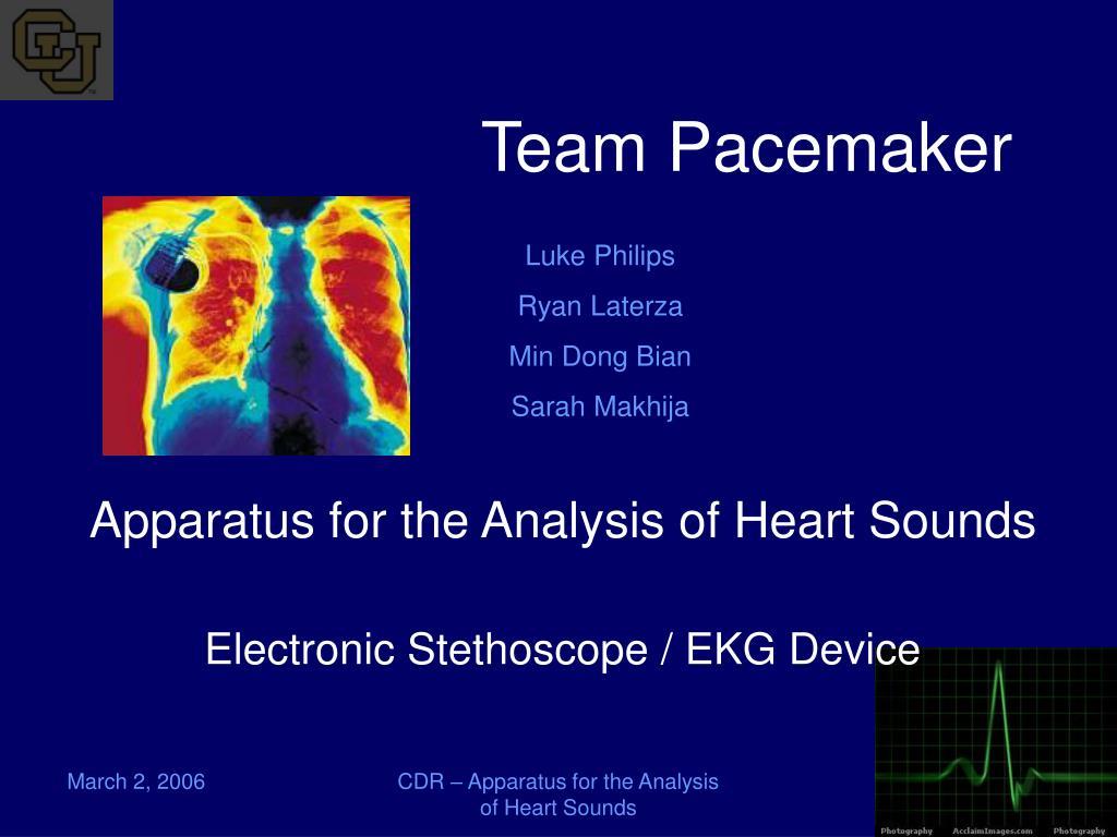 team pacemaker l.