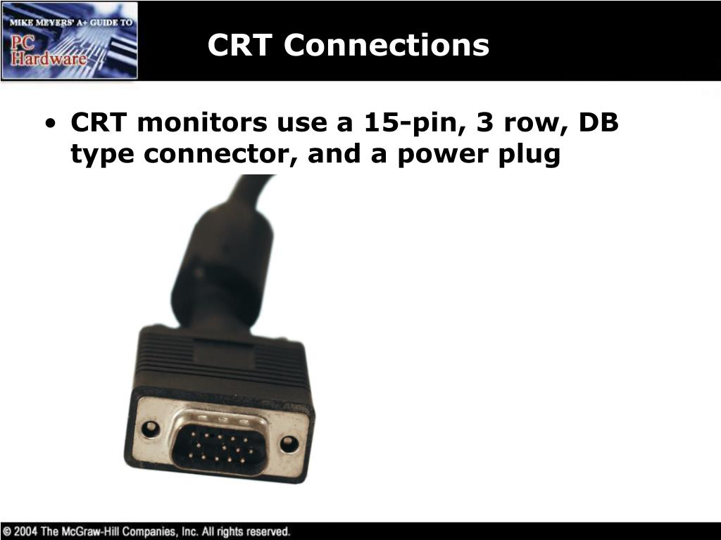 CRT Connections
