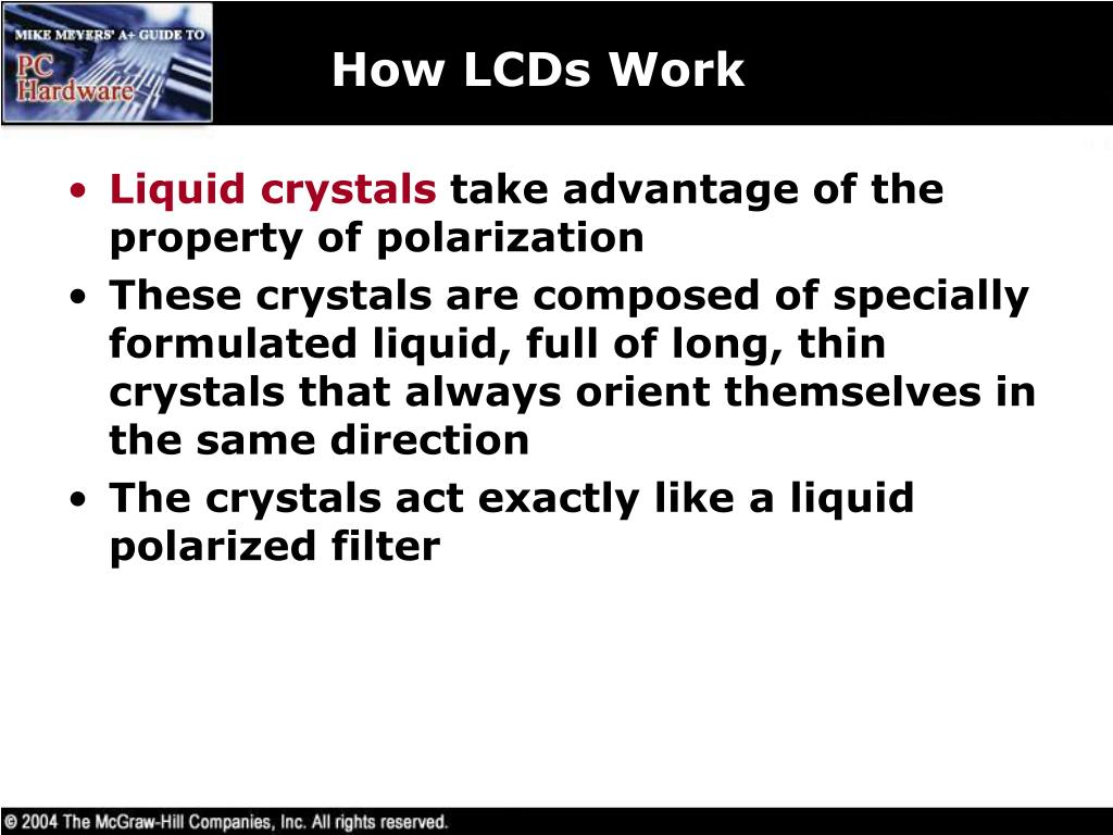 How LCDs Work
