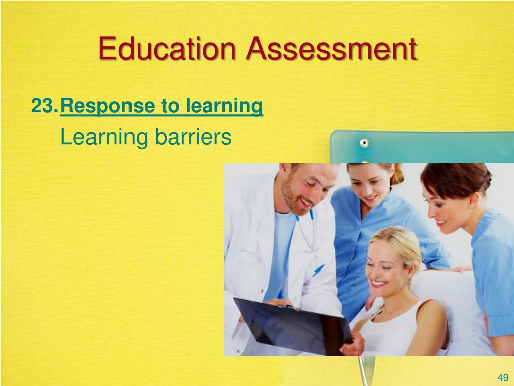 Education Assessment