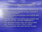 overcoming paranoia yours