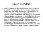 dutch freedom