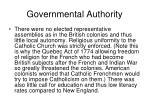 governmental authority24