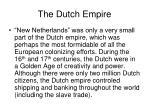 the dutch empire