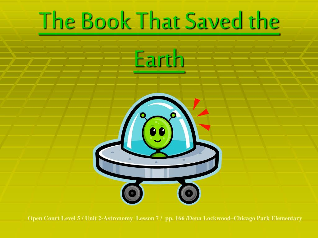 the book that saved the earth l.