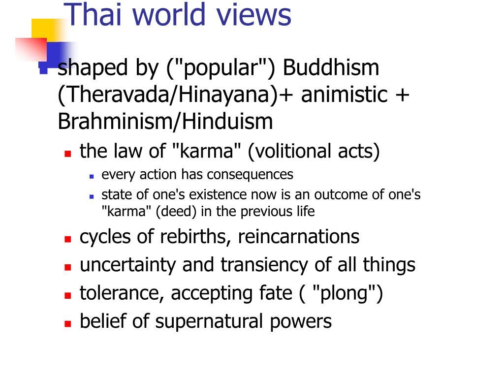 Thai world views