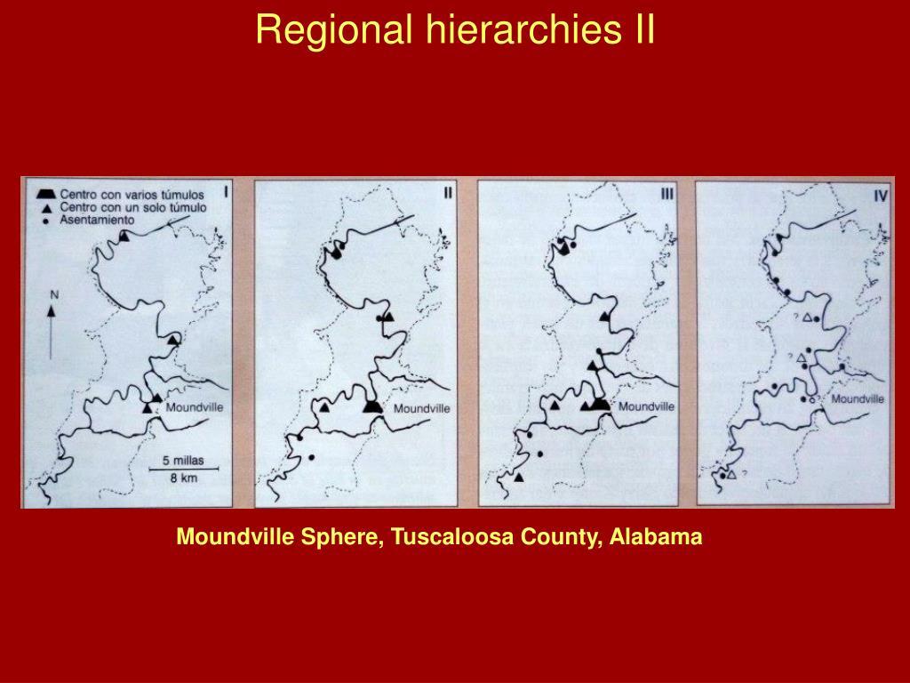 Regional hierarchies II