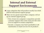 internal and external support environments3