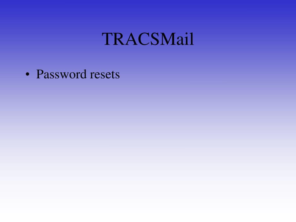 TRACSMail