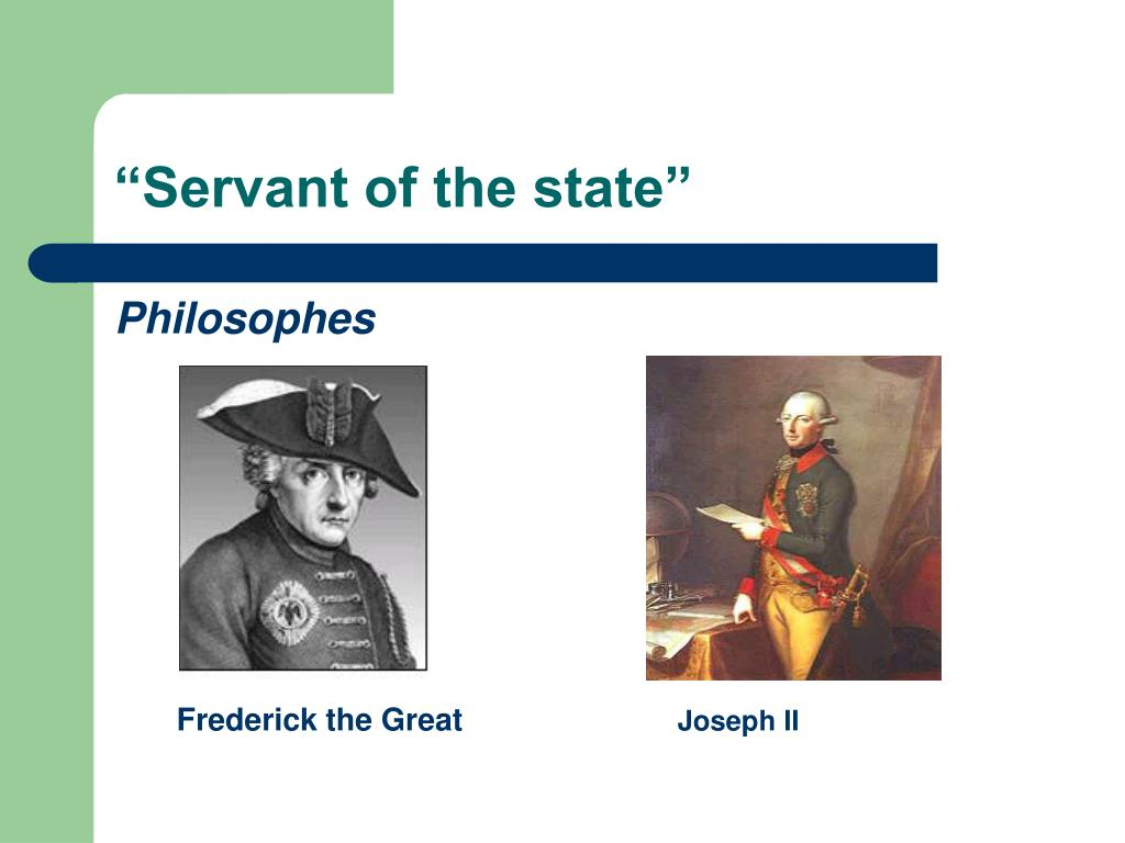 """""""Servant of the state"""""""