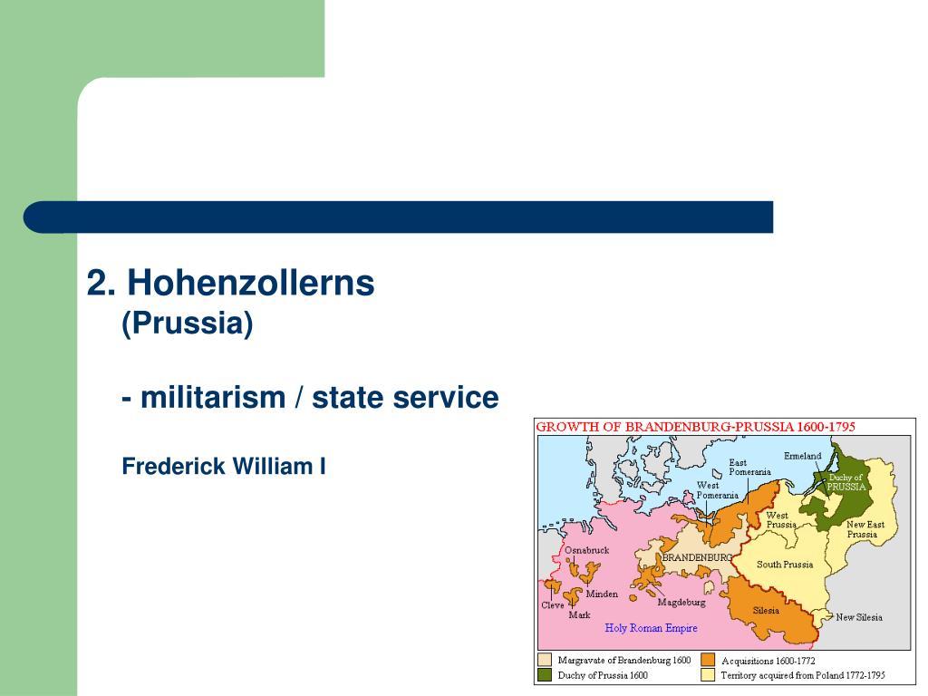 2. Hohenzollerns