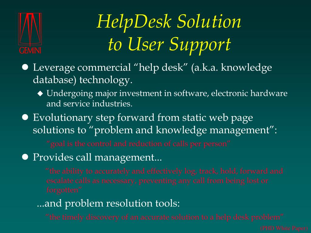 HelpDesk Solution