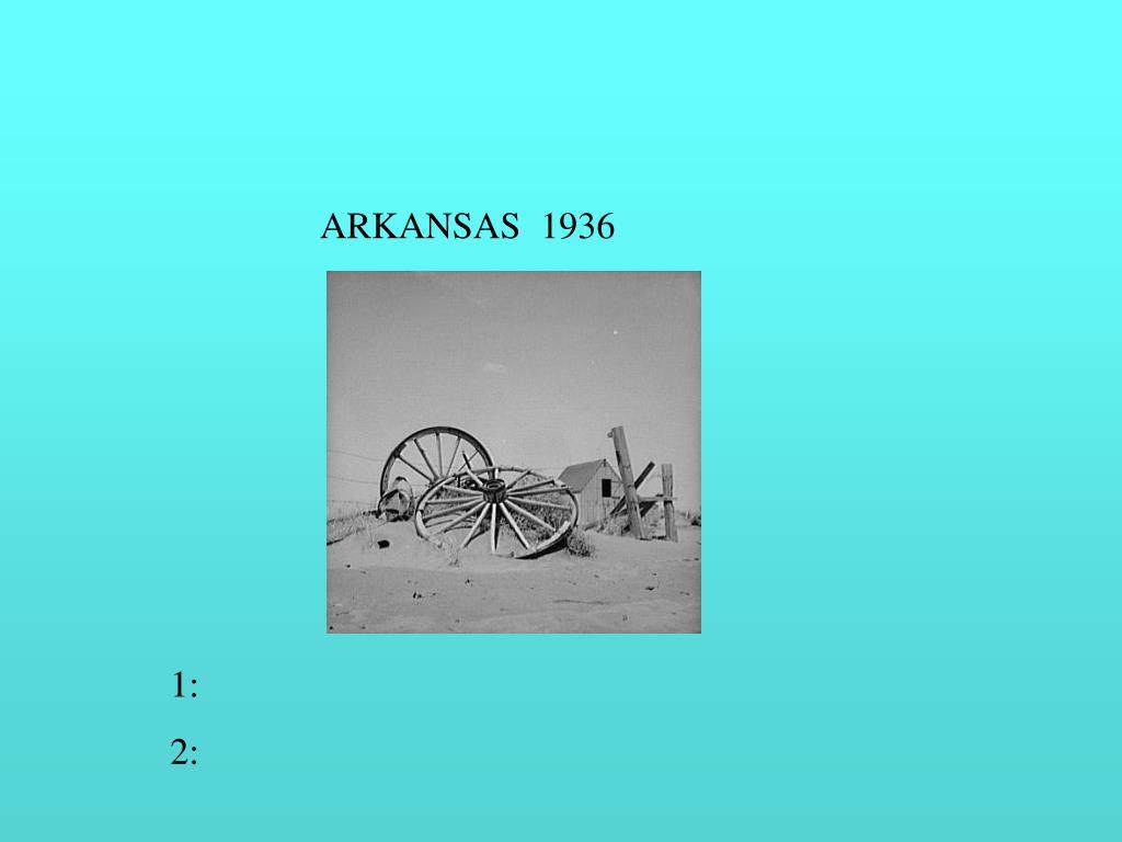 ARKANSAS  1936