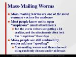 mass mailing worms