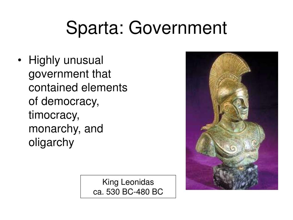 Sparta: Government