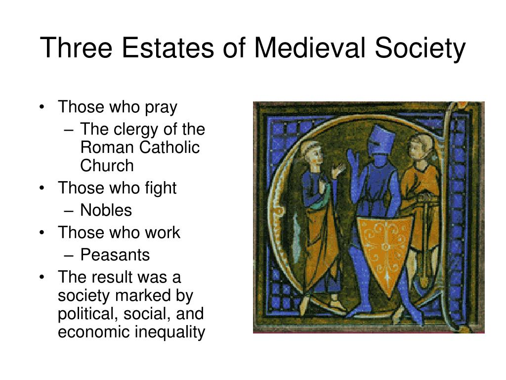 Three Estates of Medieval Society