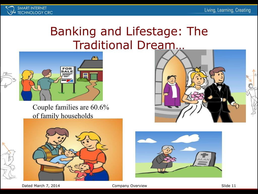 Banking and Lifestage: The Traditional Dream…