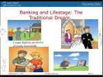 banking and lifestage the traditional dream
