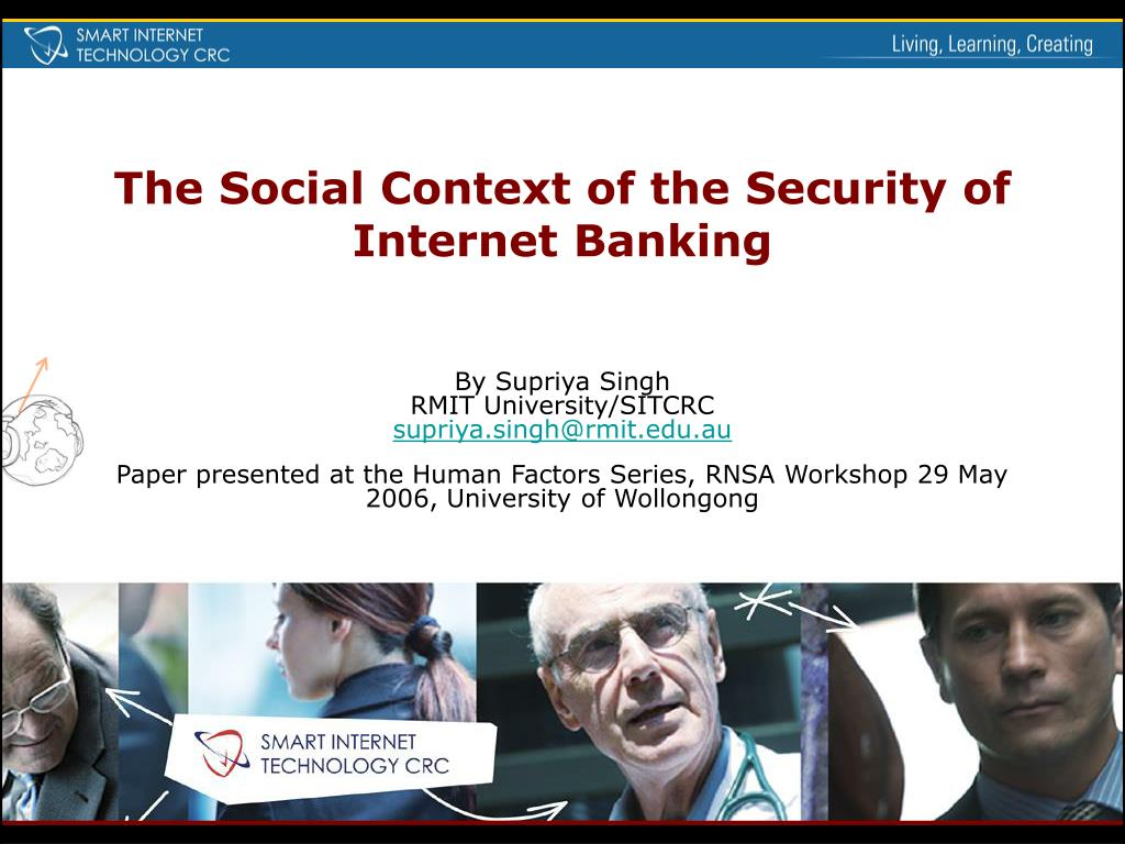 the social context of the security of internet banking l.