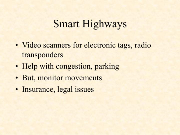 Smart Highways