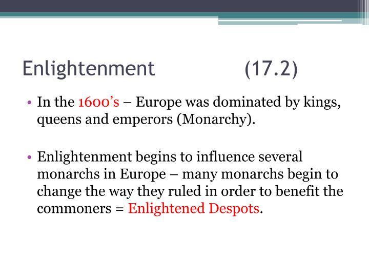 Enlightenment(17.2)