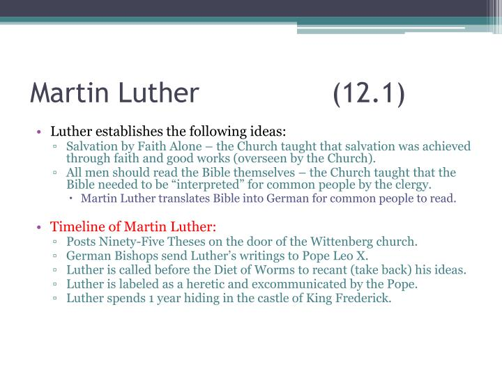 Martin Luther (12.1)