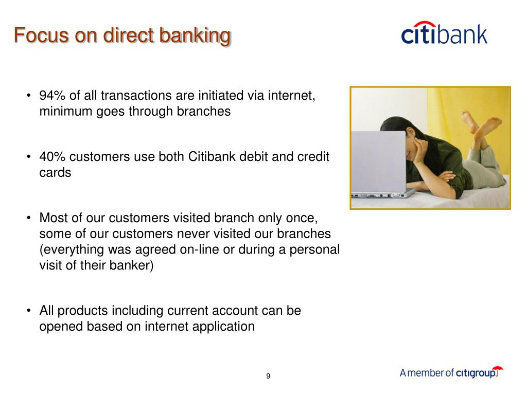 Focus on direct banking